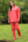 Yellow Blue Polyester Red Rain Suit Rains Clothing Ladies Raincoats