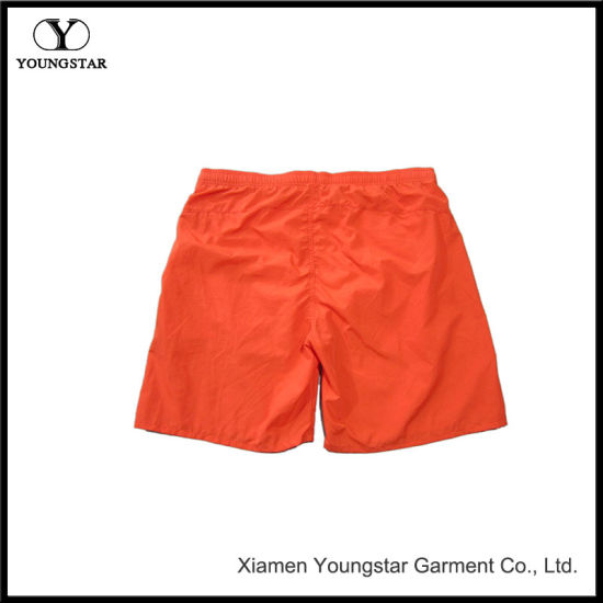 Orange Youth Nylon Short Surfing Board Shorts Mens