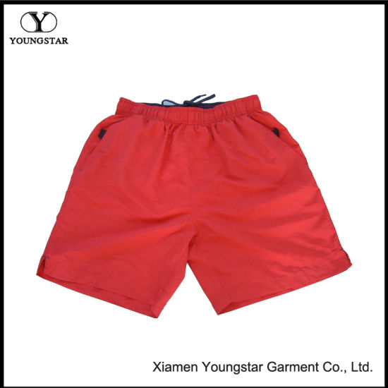 Polyester Men′s Loose Boardshort with Comfortable Wearing