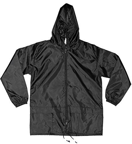 Unisex Kids Children Cagoule Showerproof Cagoules Kagoule with Hood