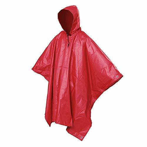 Multifunctional Raincoat, Reusable Rain Poncho, Showerproof Hooded Outerwear, Perfect for Travel, Festivals, Theme Parks and Outdoors