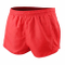 "Men′s Sports 1"" Elite Split Running Shorts with Side Mesh Panel Quick Dry Lightweight Polyester"