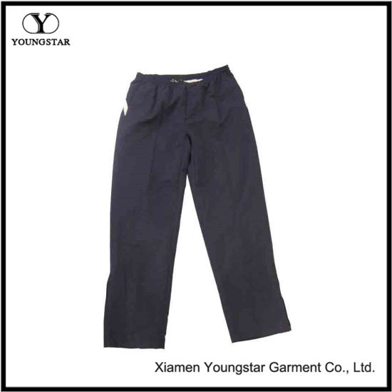 Sports Trousers 100% Polyester Men′s Sport Long Pants