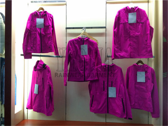Women′s Fashion Design Outdoor Clothing with AC Coating