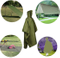 3 in 1 Lightweight Waterproof Multi-Purpose Rain Poncho, Camping Ground Mat, Shelter Tarpaulin