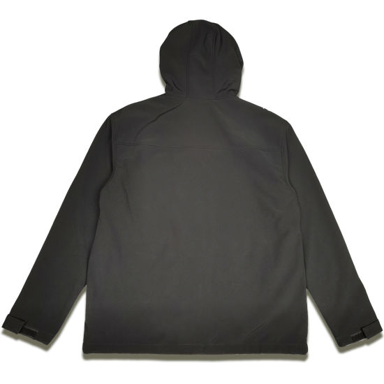 Black Windproof Raincoat Unisex Outdoor Windproof Clothing [New]