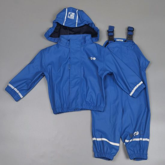 Children′s Raincoat Suit Waterproof Poncho Outdoor Sports Clothes [New]