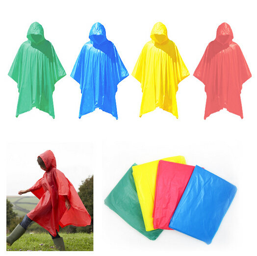 Durable and Lightweight Rain Poncho