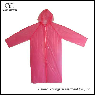 Promotional PE Raincoat Disposable Emergency Poncho