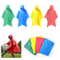 Lightweight Waterproof PVC Rain Poncho with Hooded for Traveling