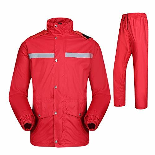 Windproof Jacket Men Impermeable Rain Coat for Motorcycle Two Layers Waterproof Fabric Raincoat Set Adult 4XL Rainwear Cover for Hiking