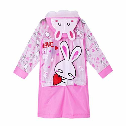 Unisex PVC Hooded Rain Coats for Kids Waterproof Kids Funny Raincoat Cartoon Rain Coat Jacket Raincoat