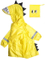 Reusable Raincoat for Kids-Premium Quality Cute Dinosaur Hoody Emergency Rain Ponchos Extra Thick Raincoat for Hiking, Tours, Sightseeing, Theme Parks