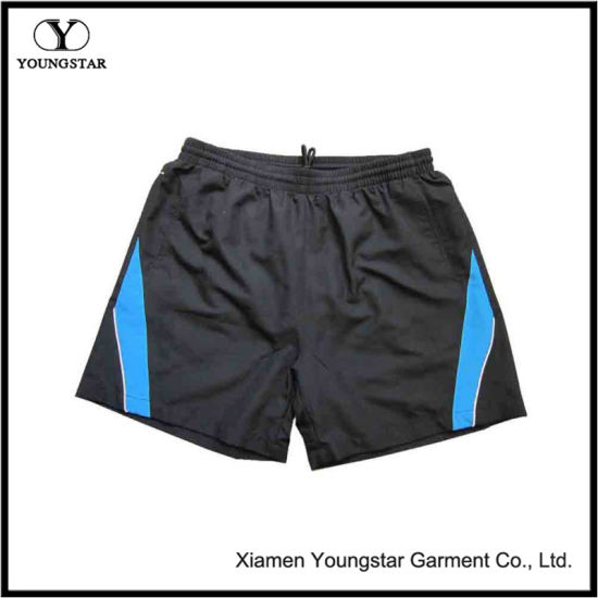 Mens Microfiber Drawstring Track Shorts Elastic Waist Gym Wear Men